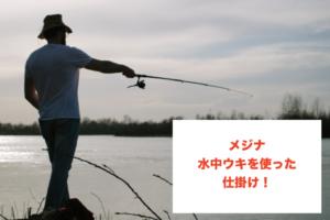 クロ・メジナ釣りの水中ウキに関する参考画像