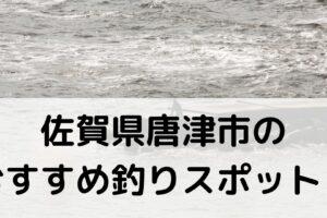 佐賀県唐津市のおすすめ釣りスポットに関する参考画像