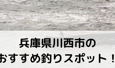 兵庫県川西市のおすすめ釣りスポットに関する参考画像
