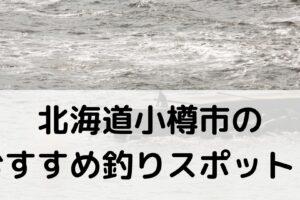 北海道小樽市のおすすめ釣りスポットに関する参考画像
