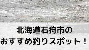 北海道石狩市のおすすめ釣りスポットに関する参考画像