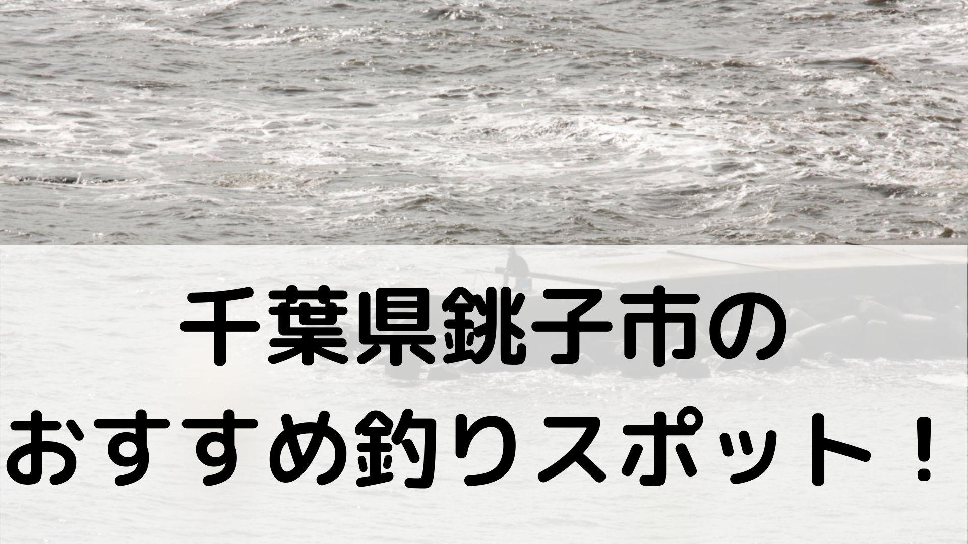 千葉県銚子市のおすすめ釣りスポットに関する参考画像