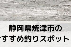 静岡県焼津市のおすすめ釣りスポットに関する参考画像