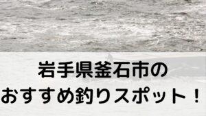 岩手県釜石市のおすすめ釣りスポットに関する参考画像