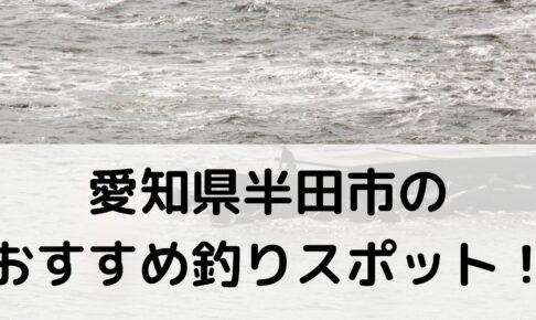 愛知県半田市のおすすめ釣りスポットに関する参考画像