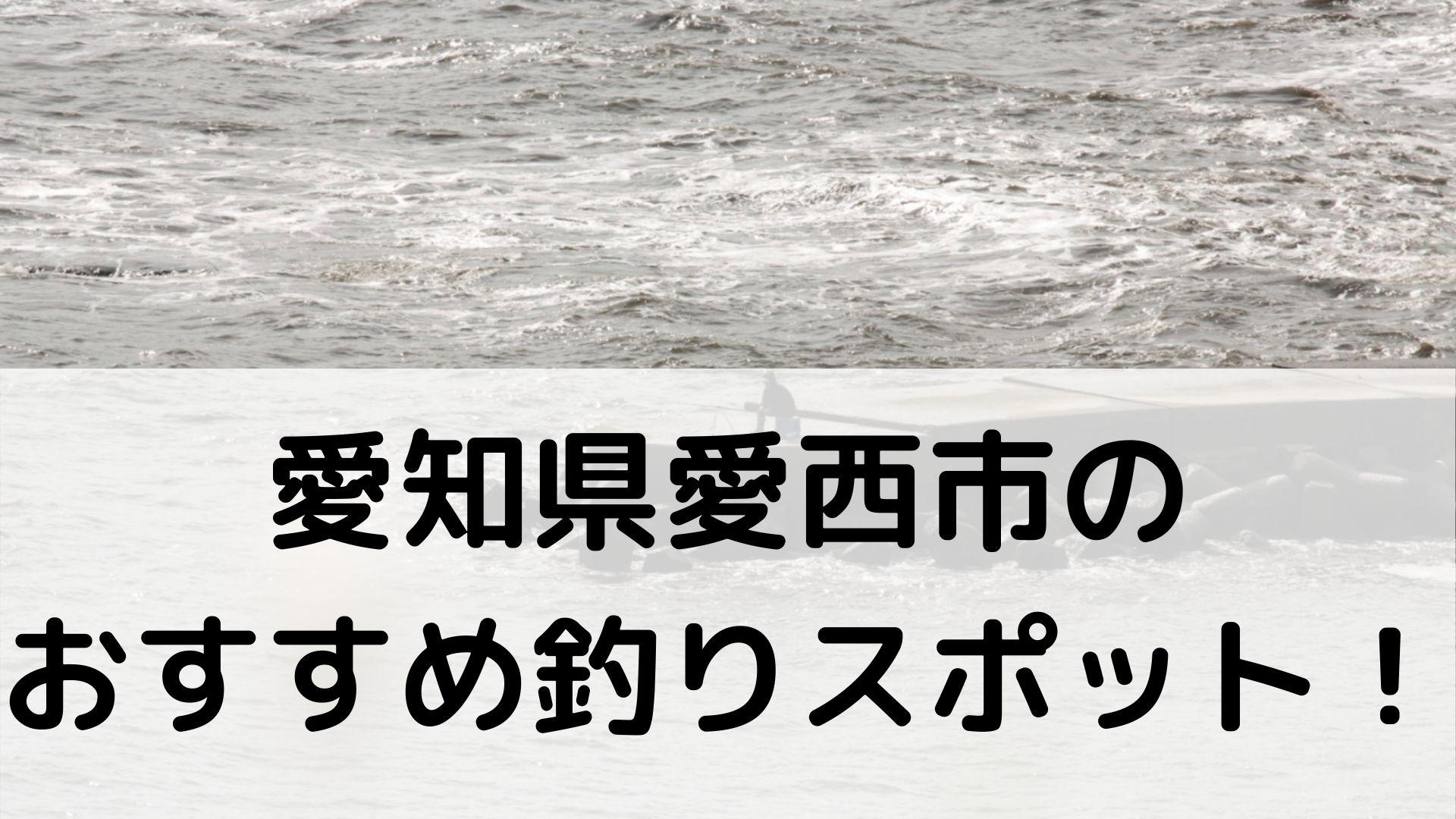 愛知県愛西市のおすすめ釣りスポットに関する参考画像