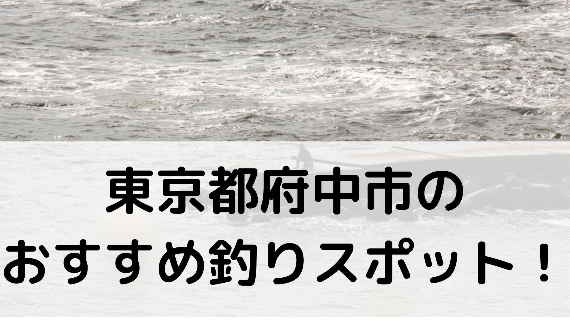 東京都府中市のおすすめ釣りスポットに関する参考画像