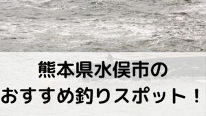 熊本県水俣市のおすすめ釣りスポットに関する参考画像