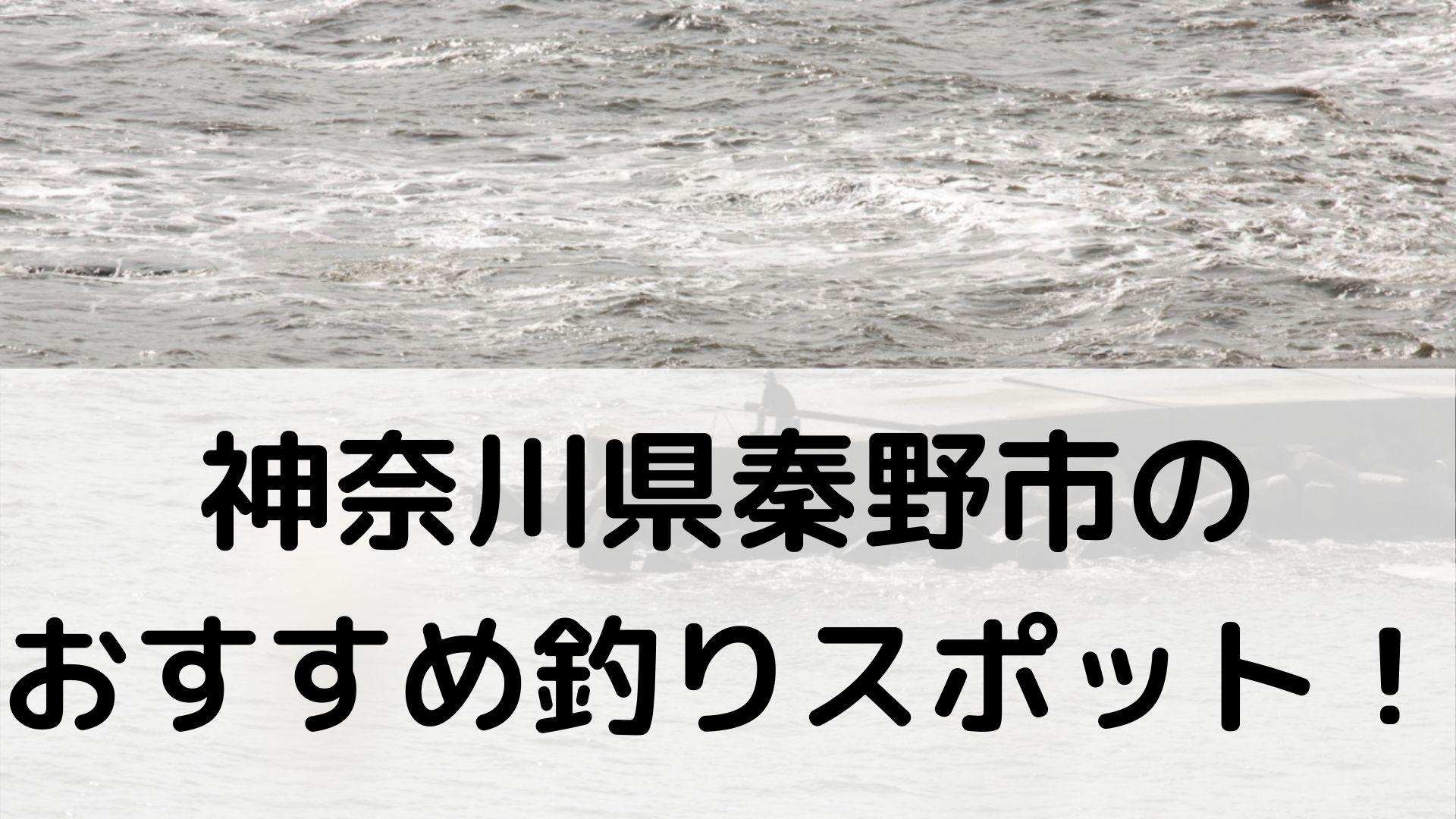 神奈川県秦野市のおすすめ釣りスポットに関する参考画像