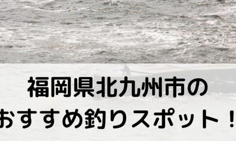 福岡県北九州市のおすすめ釣りスポットに関する参考画像