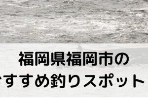 福岡県福岡市のおすすめ釣りスポットに関する参考画像