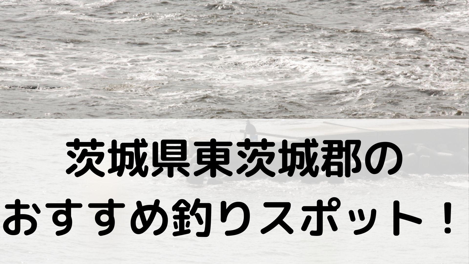 茨城県東茨城郡のおすすめ釣りスポットに関する参考画像