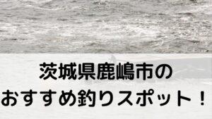 茨城県鹿嶋市のおすすめ釣りスポットに関する参考画像