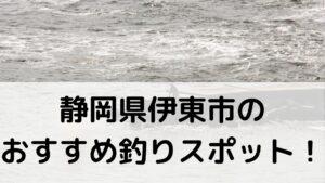 静岡県伊東市のおすすめ釣りスポットに関する参考画像
