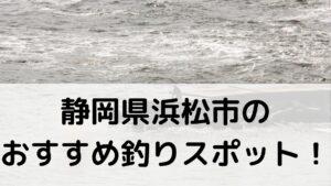 静岡県浜松市のおすすめ釣りスポットに関する参考画像